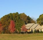 A pretty view of Kite Hill property in the fall.